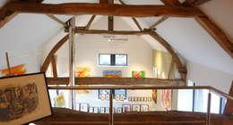 Verbouwing Schuur Vijlen: moderne Slaapkamer door SeC architecten