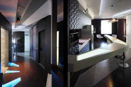 квартира на Масловке: Коридор и прихожая в . Автор – Disobject architects