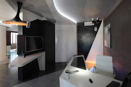 квартира на Масловке: Рабочие кабинеты в . Автор – Disobject architects