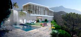 minimalistic Garden by Chdarquitectura