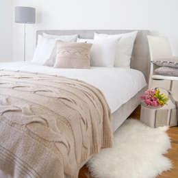 Koplet Pościeli Arktis: styl , w kategorii Sypialnia zaprojektowany przez Lilla Sky