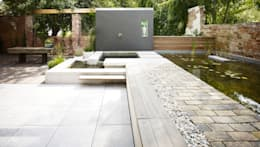 Loft mit Garten: minimalistischer Garten von Eilmann Architekturbüro