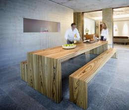 Eine Sitzecke In Der Küche Ohne Ecken Und Mitten Im Raum?