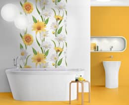 country Bathroom تنفيذ Target Tiles