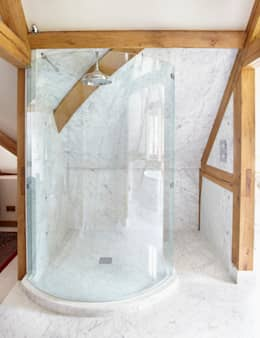 Country House Barn, Surrey: country Bathroom by Drummonds Bathrooms