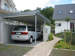 ARCHITEKTURBÜRO  SEIPEL: modern tarz Garaj / Hangar