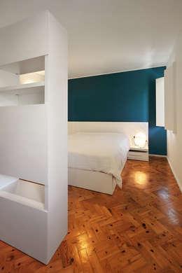 Projekty,  Sypialnia zaprojektowane przez Tiago Patricio Rodrigues, Arquitectura e Interiores