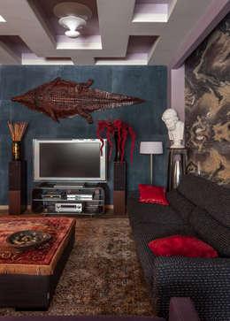 Остров Фантазий: Гостиная в . Автор – МАРИНА БУСЕЛ интерьерный дизайн