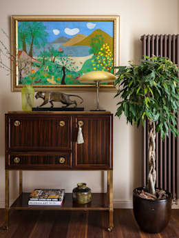 eclectic Bedroom by МАРИНА БУСЕЛ интерьерный дизайн