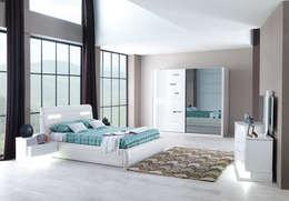 Mahir Mobilya – Yatak Odası Modelleri: modern tarz Yatak Odası
