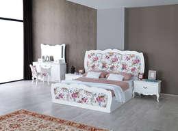 Mahir Mobilya – Country yatak odası: rustik tarz tarz Yatak Odası