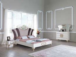 Mahir Mobilya – avangart yatak modeli:  tarz İç Dekorasyon