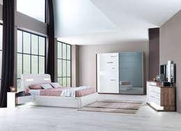 Спальная комната  в . Автор – Mahir Mobilya