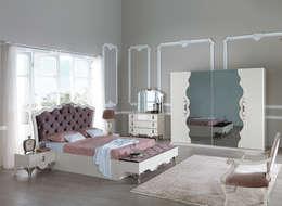 Mahir Mobilya – Avangart Yatak Odası: minimal tarz tarz Yatak Odası