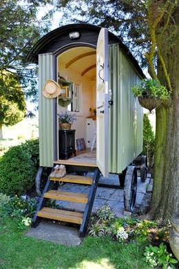 Casas de estilo rural por Plankbridge