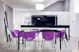 Apartament w Gdańsku 2012: styl , w kategorii Jadalnia zaprojektowany przez formativ. indywidualne projekty wnętrz