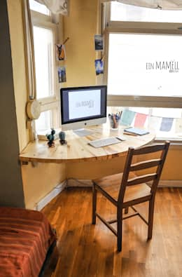 rustic Study/office by Ein Mamëll