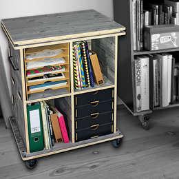 Werkhaus Design + Produktion GmbHが手掛けた勉強部屋/オフィス