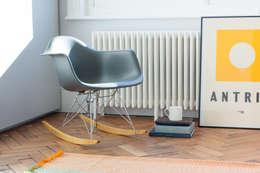 moderne Studeerkamer/kantoor door deDraft Ltd