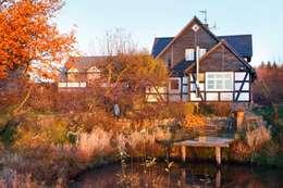 Wiejska chata: styl wiejskie, w kategorii Domy zaprojektowany przez Studio Projektowe RoRO interior + design