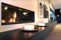 As Tasarım - Mimarlık – SAHİLEVLERİ PROJE: modern tarz Oturma Odası
