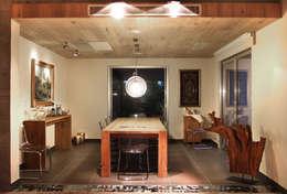 As Tasarım - Mimarlık – SAHİLEVLERİ PROJE: modern tarz Yemek Odası
