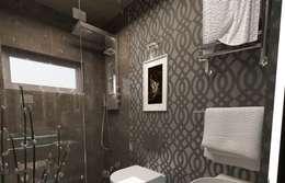 İdea Mimarlık – Ispartakule'de bir daire: modern tarz Banyo