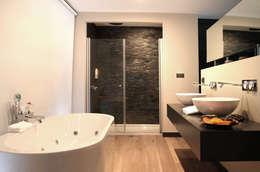 As Tasarım - Mimarlık – SAHİLEVLERİ PROJE: modern tarz Banyo