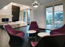 modern Living room by Studio Marco Piva