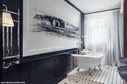 浴室 by Sikora Wnetrza