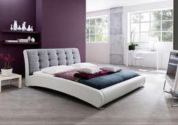 Łóżko PLAYA: styl , w kategorii Sypialnia zaprojektowany przez mebel4u
