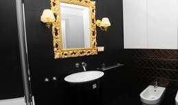 classic Bathroom by Sikora Wnetrza