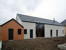 projet maison ossature bois: Maisons de style de style Classique par yg-architecte