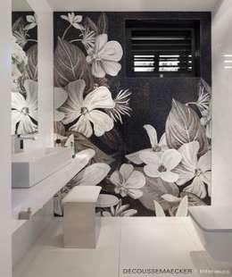 Projekty, eklektyczne Spa zaprojektowane przez Decoussemaecker Interieurs