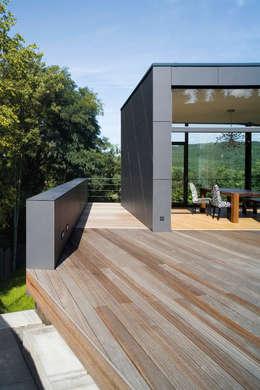 Projekty,  Taras zaprojektowane przez Markus Gentner Architekten