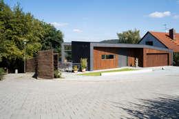Projekty, nowoczesne Domy zaprojektowane przez Markus Gentner Architekten