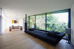 Projekty,  Salon zaprojektowane przez Markus Gentner Architekten