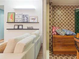 Salas de estilo moderno por Isabela Bethônico Arquitetura