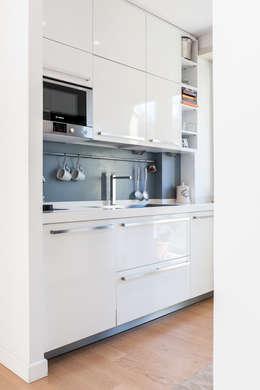 مطبخ تنفيذ zero6studio - Studio Associato di Architettura