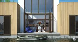 Orangerie: moderne Serre door M&M Watervilla