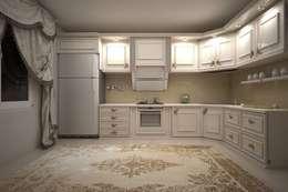 مطبخ تنفيذ erenyan mimarlık proje&tasarım