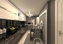 erenyan mimarlık proje&tasarım – MUTFAK VE BANYO TASARIMLAR: minimal tarz tarz Mutfak