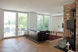 Projekty,  Salon zaprojektowane przez Architekturbüro J. + J. Viethen