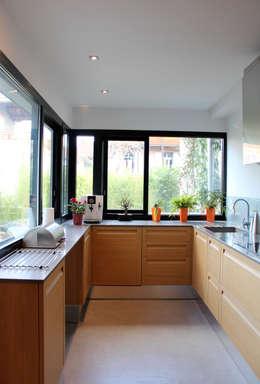 آشپزخانه by Atelier d'architecture Pilon & Georges