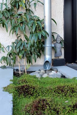 Rénovation d'une maison - TOULOUSE: Jardin de style de style Asiatique par Atelier d'architecture Pilon & Georges