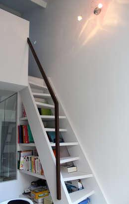 Atelier d'architecture Pilon & Georges의  서재 & 사무실