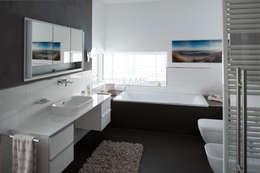 Ванные комнаты в . Автор – Architekturbüro J. + J. Viethen