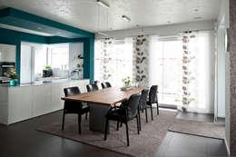 Comedores de estilo moderno por Architekturbüro J. + J. Viethen