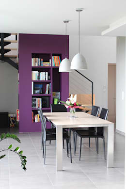 modern Dining room by Atelier d'architecture Pilon & Georges