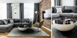 modern Living room by Anna Maria Sokołowska Architektura Wnętrz